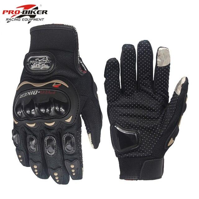 Gants de moto Pour l'hiver et été Insert tactile sur l'index, permettant la manipulation gantée de votre smartphone ou GPS 5
