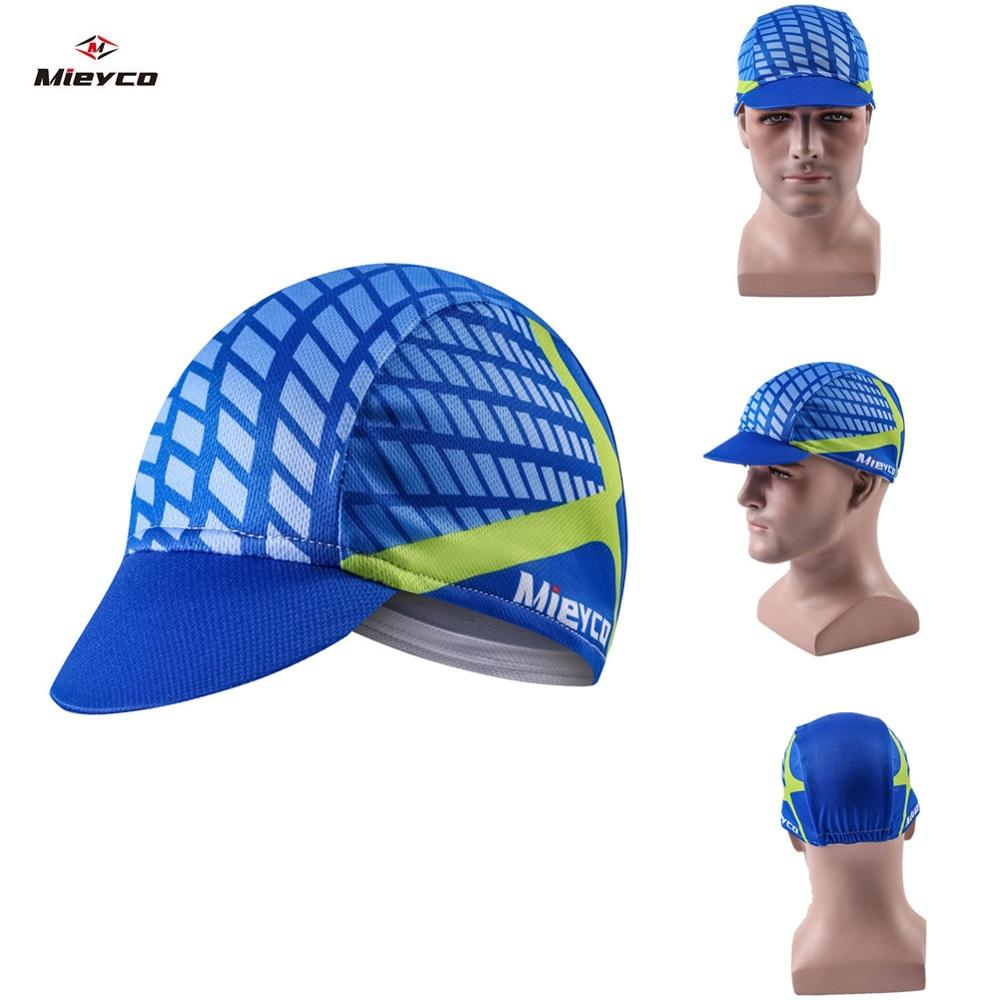 Breathable Cycling Cap Summer Cycling Hat Sport Road Bicycle Helmet Cap Men Head Scarf Pro Team Mountain Bike Cap Headwear