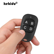 kebidu 4 Button Gate Garage Door Opener Remote Control 433MHZ Rolling Code High sensitivity Wide Range Effectiveness