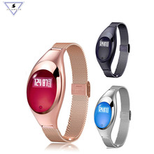Z18 Heart Rate Monitor Smart Bracelet Women Band Blood Pressure Watch Fitness Tracker Smartband Health Wristband