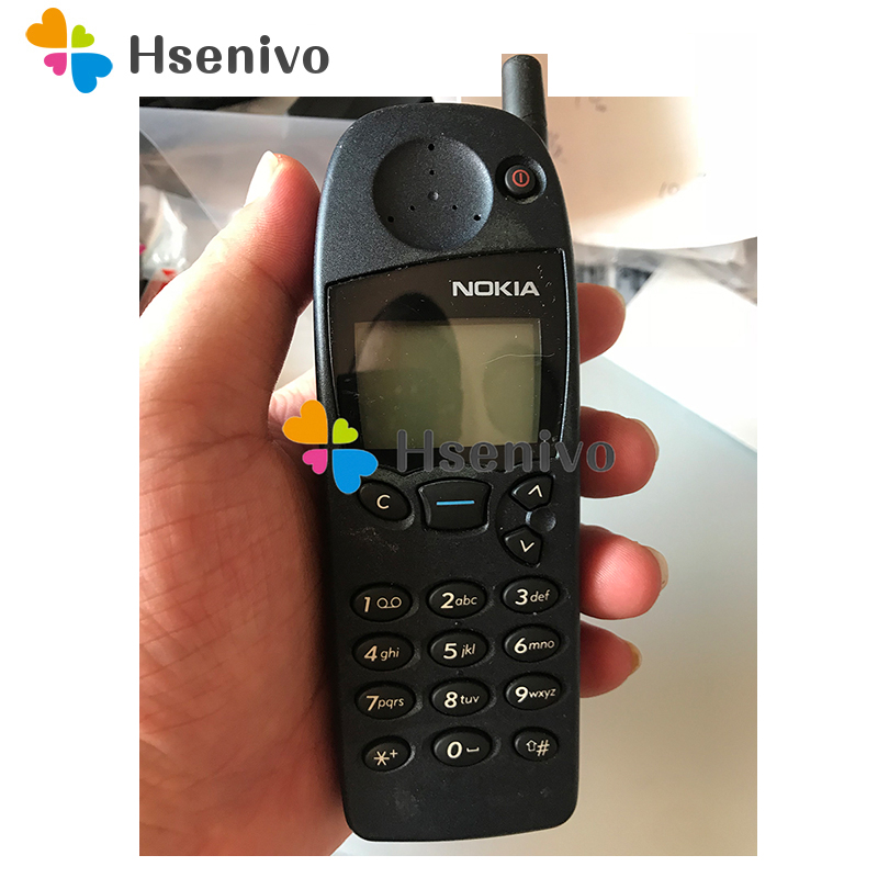 5110 Original Nokia 5110 Mobile Phone 2G GSM Unlocked Cheap Old Refurbished Phone Free Shipping