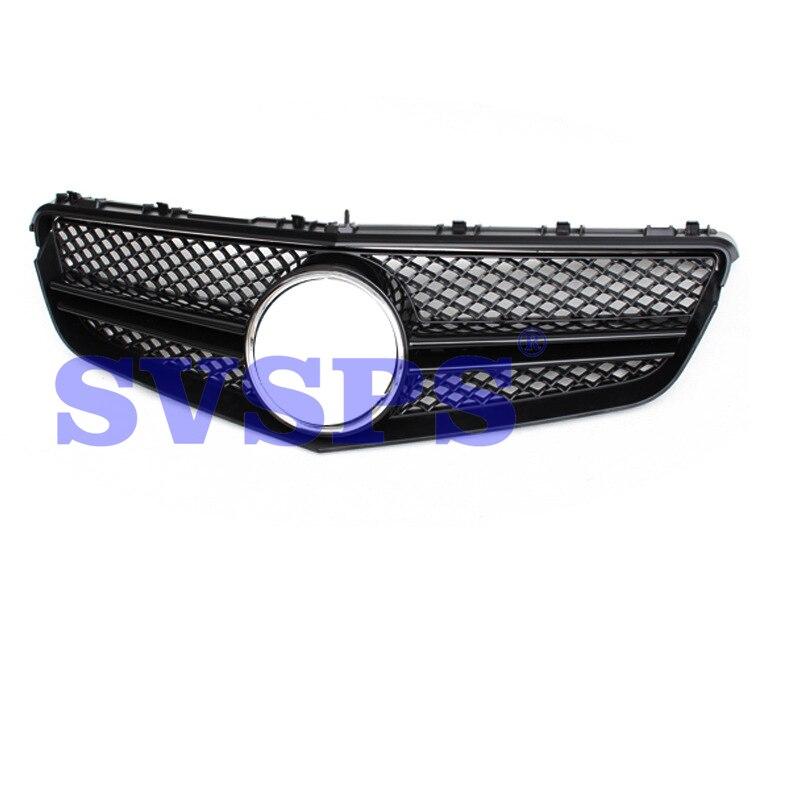 Haute Qualité ABS Avant Calandre Pour Mercedes Benz Classe E W207 C207 E260 E300 E350 Coupé 2010- 2013 Année