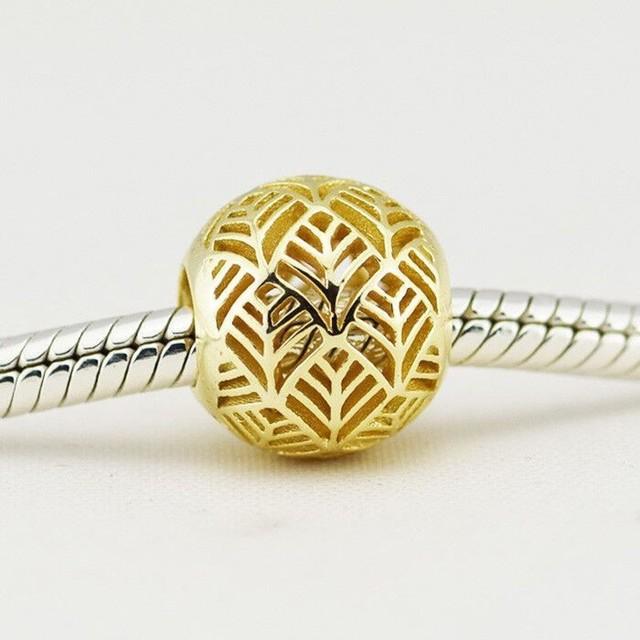 Tropican encantos authentic 925 sterling silver bead europeu diy jóias fazendo para mulheres serve pandora encantos pulseiras