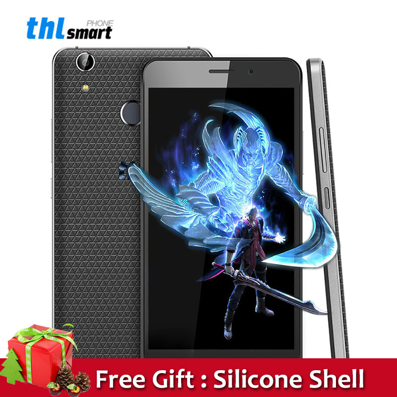 Original THL T9 Plus 4G Mobile phone Android 6.0 5.5inch MTK6737 Quad Core 2G RAM 16G ROM 3000mAh 16MP Fingerprint ID SmartPhone