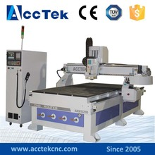 Woodworking lathe router Syntec system wood cnc carving machine with CE certification for sale