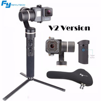 Feiyu G5 V2 Updated 3 Axis Splash Proof Handheld Gimbal For GoPro Hero 6 5 4