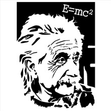buy e decals and get free shipping on aliexpress VVT-i V6 famous scientist albert einstein s e mc2 picture vinyl stickers art mural wall decals home decor