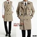 2017new людей прибытия Двух частей установить весной пальто длинное пальто Жилет Куртка мода высокого качества повседневная плюс размер S-XL2XL3XL4XL6XL 688