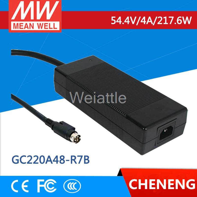 MEAN WELL original GC220A48-R7B 54.4V 4A meanwell GC220 54.4V 217.6W Single Output Battery ChargerMEAN WELL original GC220A48-R7B 54.4V 4A meanwell GC220 54.4V 217.6W Single Output Battery Charger