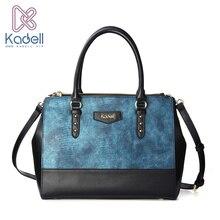 Kadell Luxury Women Bag Crocodile Pattern PU Leather Handbags Famous Brand Ladies Shoulder Bag Crossbody Designer High Quality