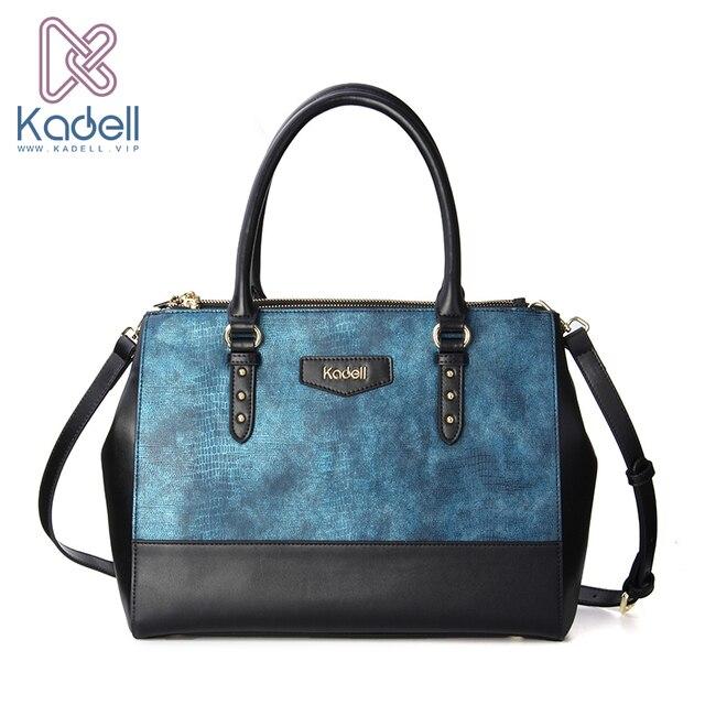 Kadell Роскошные Для женщин сумка крокодил узор из искусственной кожи Сумки известный бренд дамы Сумка Кроссбоди Дизайнер Высокое качество