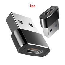 Внешний конвертер Mini USB C кабель адаптер практичная передача данных к type C женский Высокоскоростной USB 3,0 Мужской OTG портативный