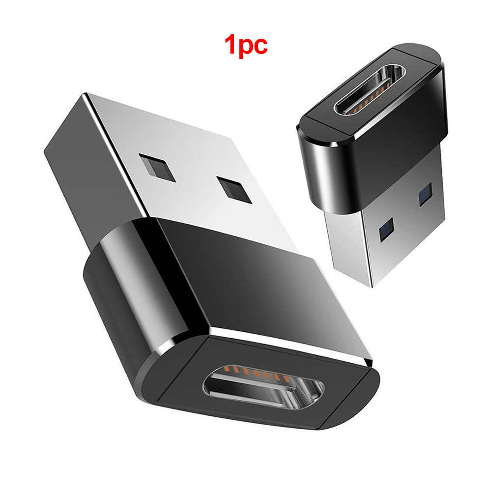 Eksternal Converter Mini Usb C Kabel Adaptor Praktis Transmisi Data Ke Tipe C Female High Speed USB 3.0 Male OTG portable