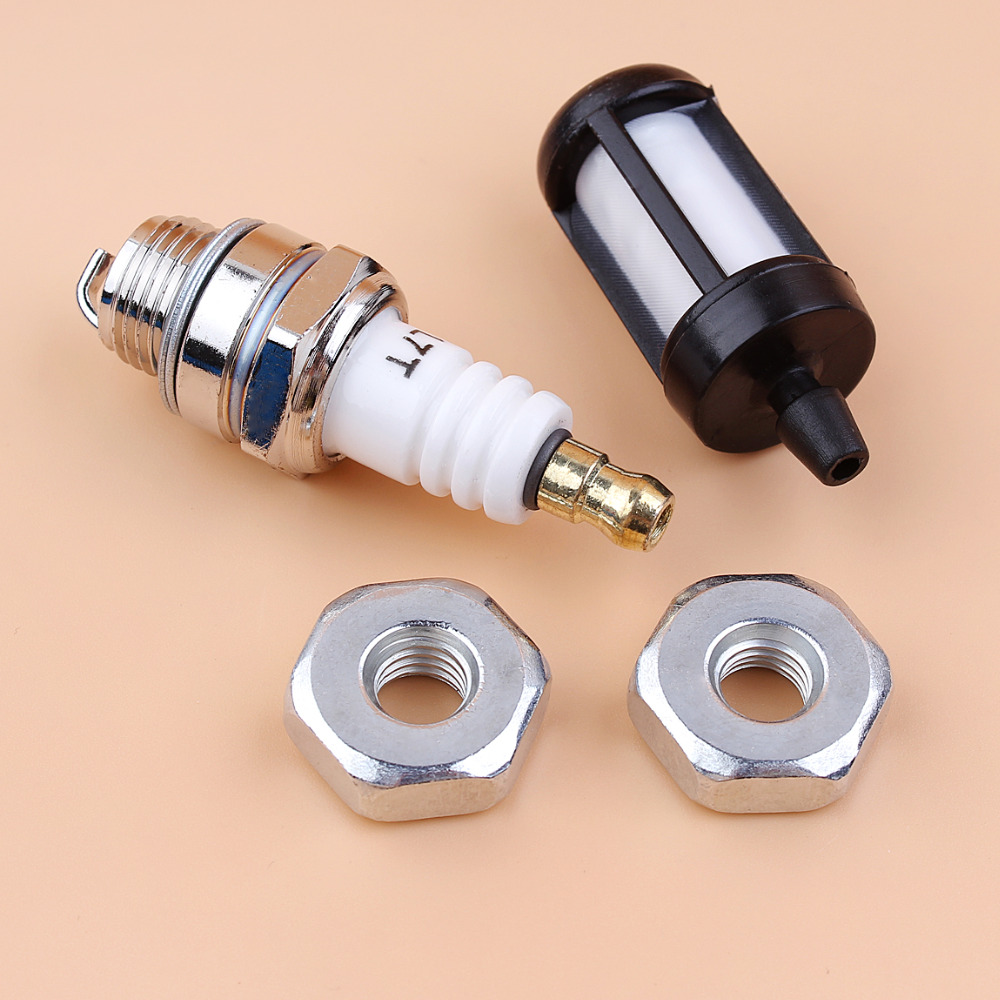 Spark Plug Air Fuel Filter Kit Fits for Stihl 017 018 MS170 MS180 Chainsaw