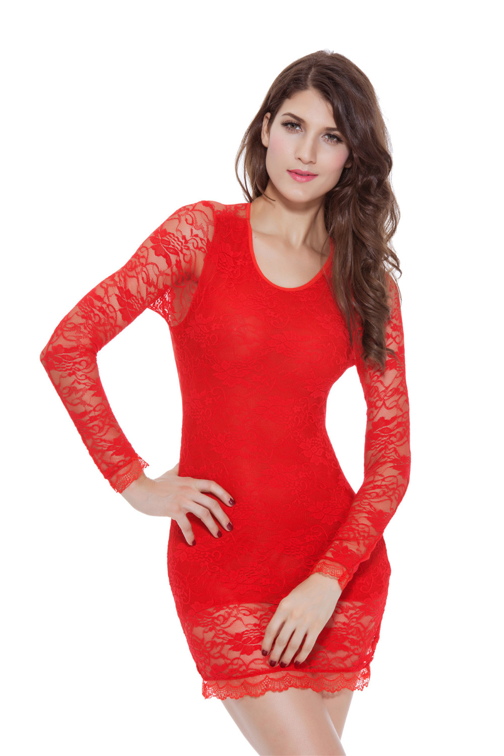 women's naughty knot body bow valentines day sexy dress lace, Ideas