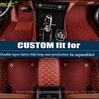 RKAC customized carpet for Chevrolet Captiva HHR Equinox TrailBlazer Tahoe Suburban Traverse car floor mat
