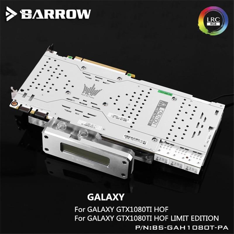 все цены на Barrow GPU Water Block For Galaxy GTX1080Ti HOF Full Coverage BS-GAH1080T-PA онлайн