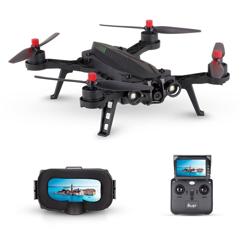 MJX Bugs 6 B6 2.4G Quadrocopter Controller 6-Axisless Brushless Motor - დისტანციური მართვის სათამაშოები - ფოტო 1