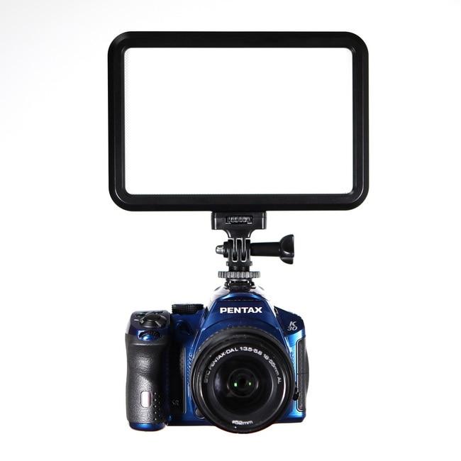 셀렌 GE - 12L 12w 비디오 컴팩트 LED 패널 사진 조명 DSLR 카메라 DV 캠코더에 대한 비디오 카메라 라이트
