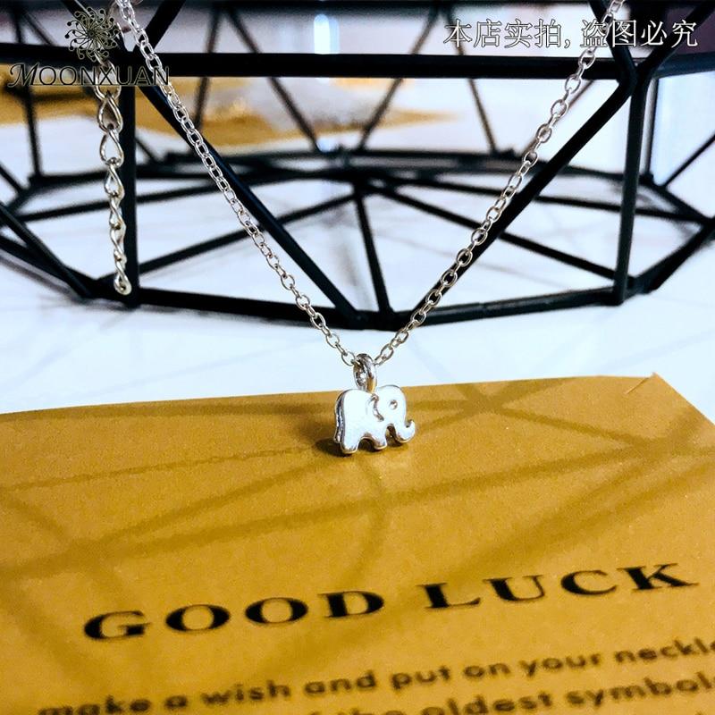 Good Luck Elephant Pendant Necklace 3
