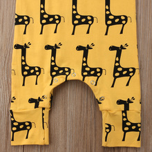 Cartoon Animal Cotton Romper Jumpsuit Outfits Summer Clothes