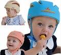 Niño tapa protectora casco para bebés infantil del sombrero de protección a prueba de caídas bache niño de la gorrita tejida del bebé del sombrero protección de la cabeza