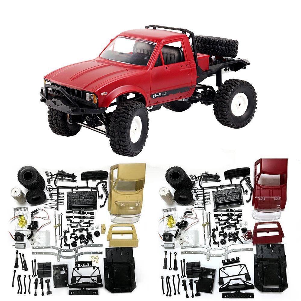 Mini Off-Road RC Camion WPL C14 1:16 Hynix 2.4g Telecomando Auto 15 km/h Velocità Massima Mini RC Monster Truck 4WD RTR/KIT