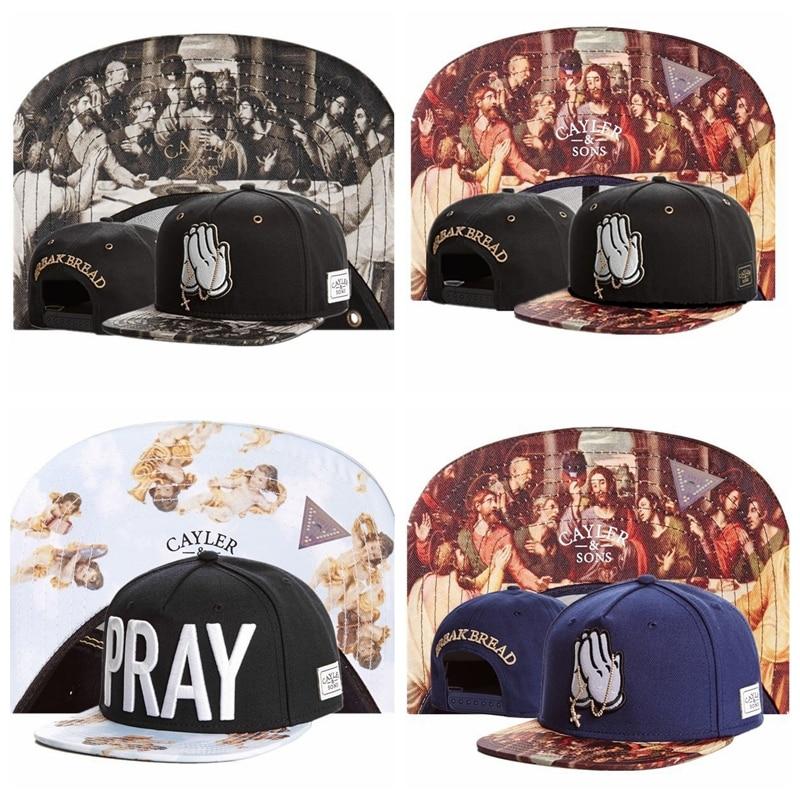 cdf18e4f20b Brand C S pray Christianity Jesus PARADISE for men women baseball hat  snapback cap bone sports hip hop sun cap Box packing-in Baseball Caps from  Apparel ...