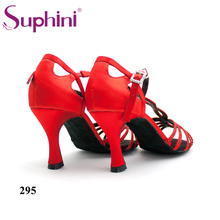 Fast Delivery Free Shipping Suphini High Heel Diamond Latin Dance Shoes  zapatos de baile latino