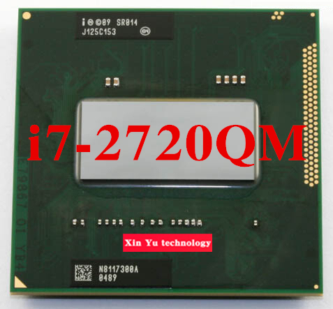 Core i7 2720QM 2.2GHz 6M Quad Core eight threads SR014 2720 Notebook processors Laptop CPU PGA 988 pin Socket G2