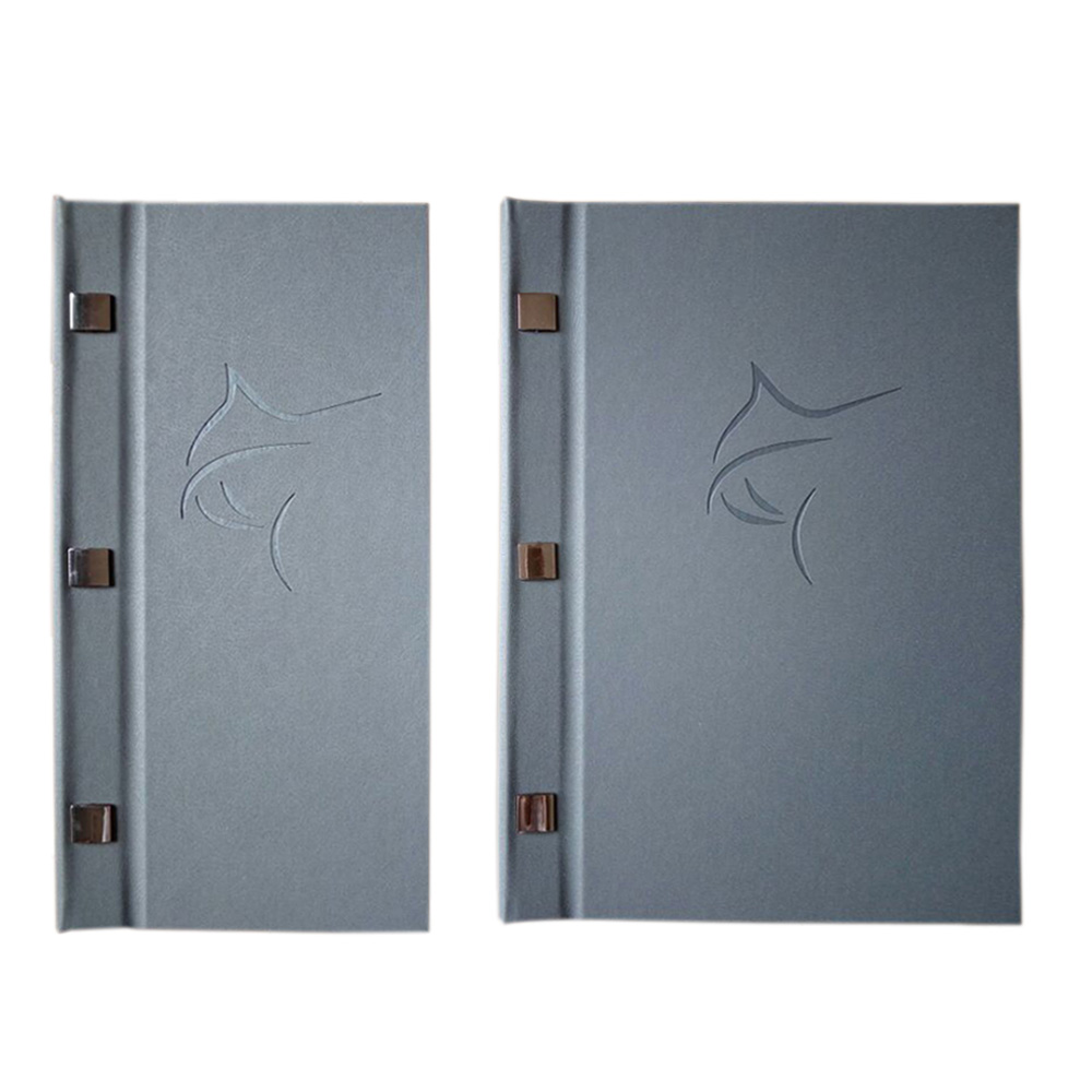 5pcs customized PU leather menu cover, wine/drink/fruit juice/coffee PU leather cover menu