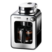 CM6686A Tam Otomatik Taşlama Kahve Makinesi Ev/Ofis Amerikan Kahve Makinesi 1-4 Bardak