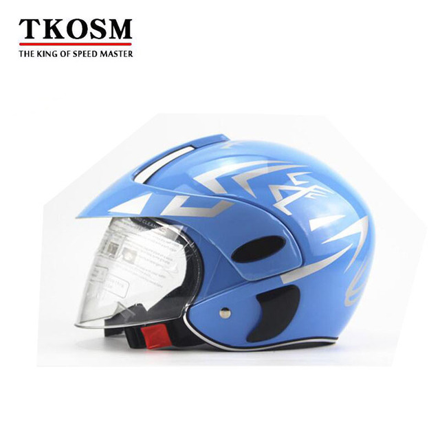 2b102b86 TKOSM Children's Motocross Motorcycle Motor Helmet Winter Warm Comfortable  Motos Protective Safety Helmets For Kid 3~9 Years Old