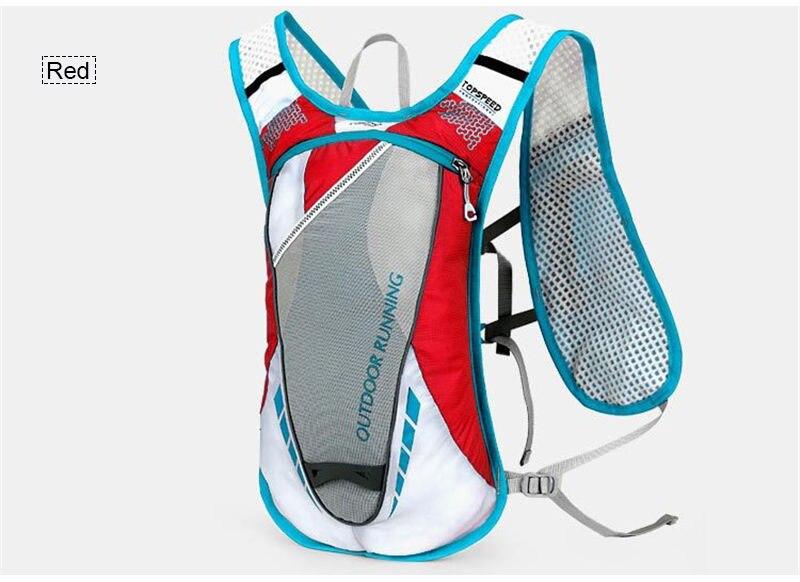 Mulheres correndo mochila leve esportes ao ar