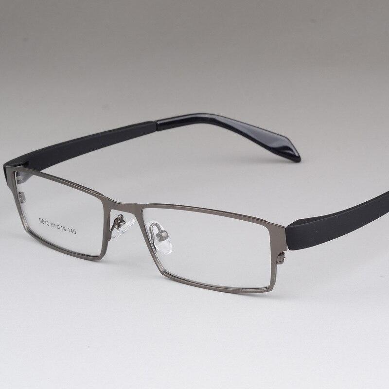 BCLEAR Men Titanium Alloy Eyeglasses Frames Flexible Temples Legs IP Electroplating Alloy Material Full Frame Spectacle Eyewear in Men 39 s Eyewear Frames from Apparel Accessories
