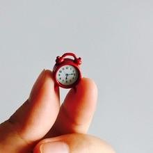 1:6 / 1:12 casa de muñecas modelo Vintage alarma reloj Mini juguetes de decoración para el hogar muebles de muñeca casa accesorios de sala de estar