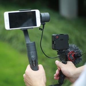 Image 5 - Dji osmo mobile 3 2 비디오 설정 마이크 l 브래킷 led 비디오 라이트, 마이크 스탠드 osmo mobile 3 smooth 4 vimble 2 gimbal
