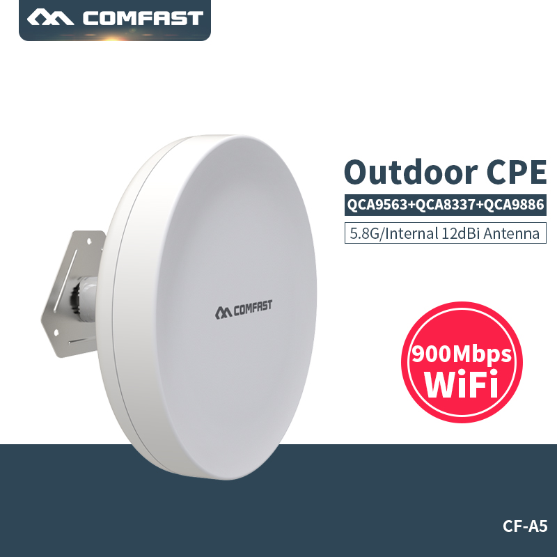 New!900Mbps Outdoor CPE 5G Ethernet Access Point Wifi Bridge Wireless Range Extender CPE Router 12dbi Antenna WIFI AP Router