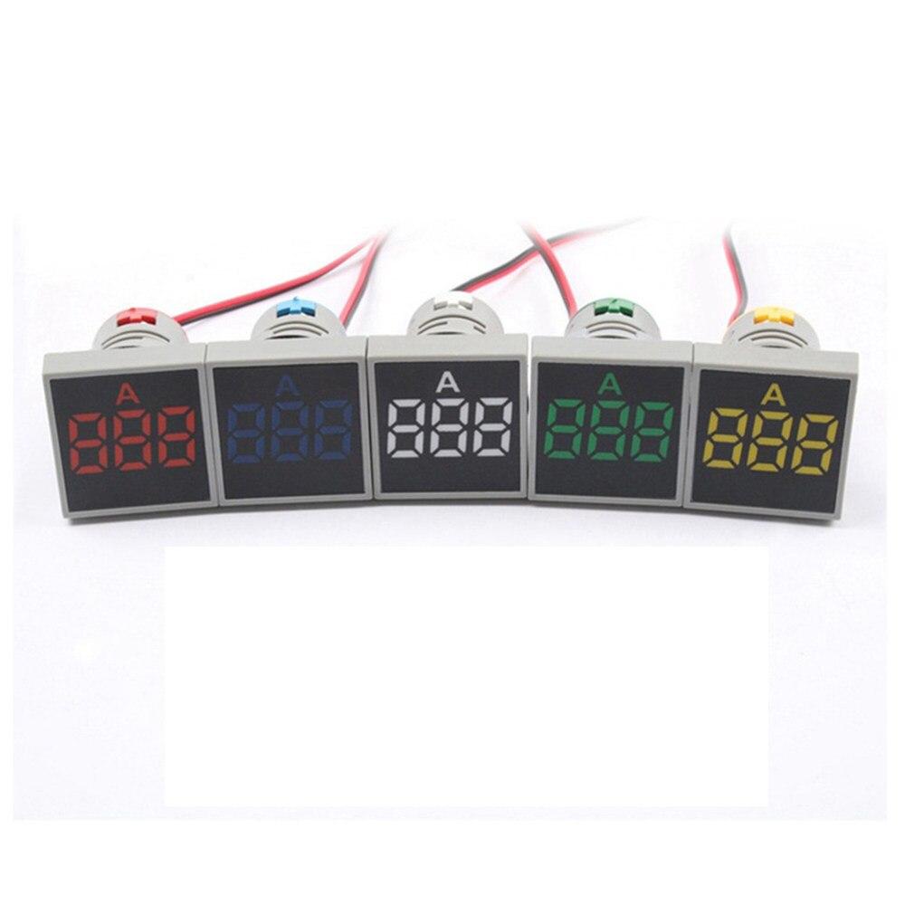Online Shop Car Ac 500v 100a Digital Voltmeter Ammeter Led Amp Volt Combo Amperemeter Frame 0 100v 10a 1pc 22mm Ac20 Voltage Meter Indicator Pilot
