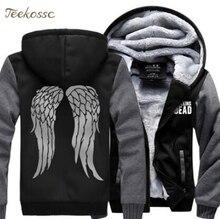 The Walking Dead Sweatshirts Men 2018 Hot Spring Winter Thick Zipper Hoodie Sportswear Mens Hoodies Casual Hip Hop Coat Jacket