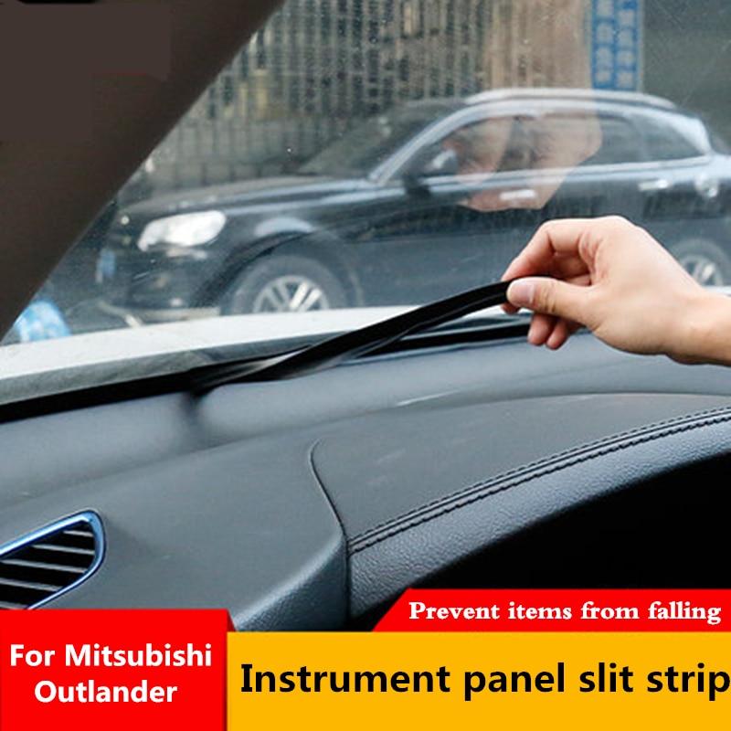 For Mitsubishi Outlander 2013 2015 2016 2017 2018 Car Dashboard Seal Strip Rubber Seals Windshield Seal Gap Soundproof Stri