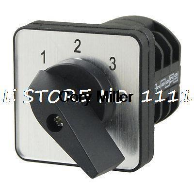 LW8-10D222/3 Rotary Handle Universal Cam Changeover Switch Ui 500V Ith 10A ui 660v ith 80a on off 2 position universal rotary cam changeover switch