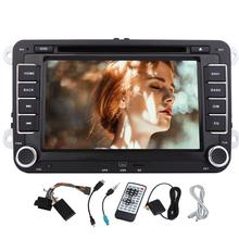 Wifi Android 6.0 Car DVD Player GPS 2 Din for Volkswagen VW POLO PASSAT TIGUAN Mirror Link OBD2 Wifi Bluetooth Autoradio Stereo