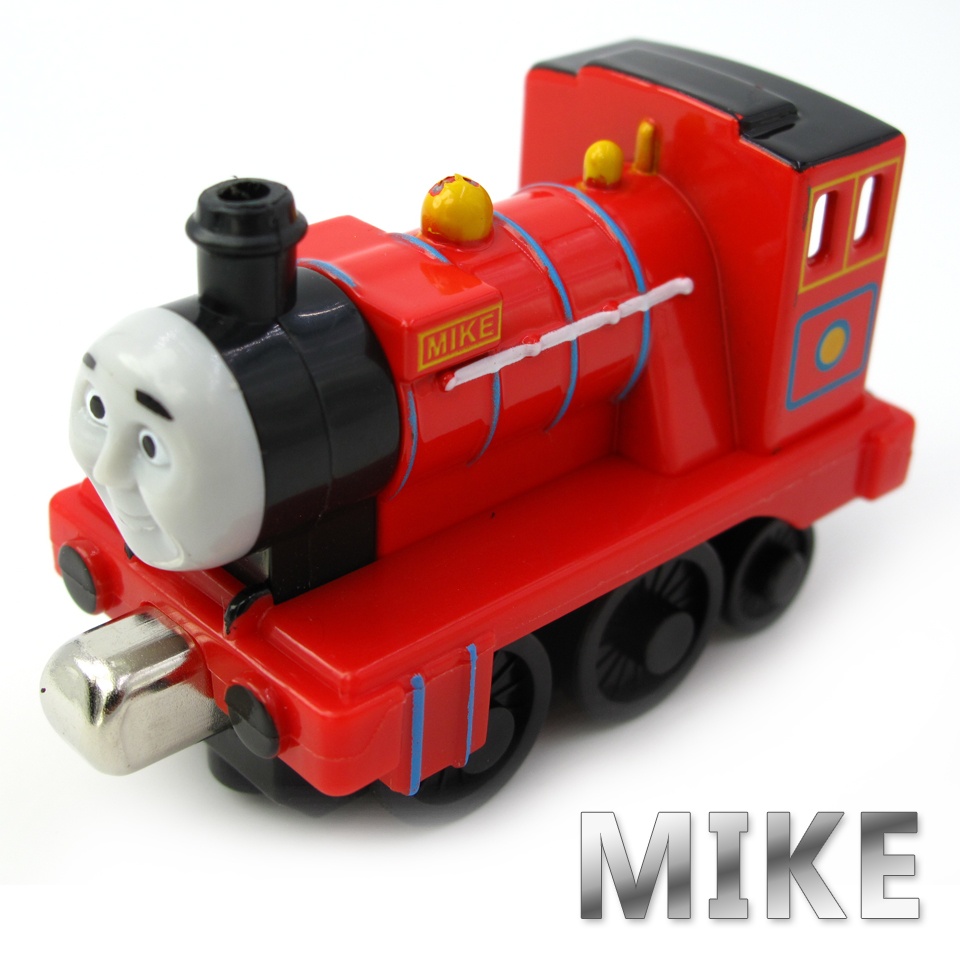 Diecasts Vehicles Thomas T091D MIKE Thomas And Friends Magnetic Tomas Truck Car Locomotive Engine Railway Train Toys for Boys