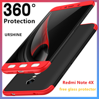 Phone Case For Global Version Xiaomi Redmi Note 4 Luxury 360 Degree Protection Mobile Phone Cover