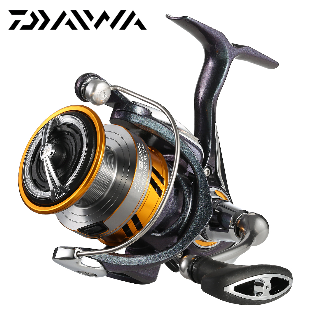 Daiwa Mission CS Spinning Reels 2000 2500 3000 4000 Size Spin Fishing Reel