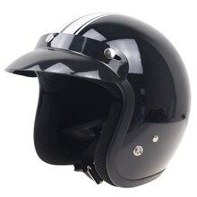Тайвань THH мотоциклетный Шлем Высокое Качество Открытый Шлем ABS shell 3/4 Стиль мотоцикл шлем DOT утвержден с козырьком