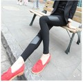 special offer trousers top fashion pants women modal  Cotton asymmetric faux leather female leggings wholesale