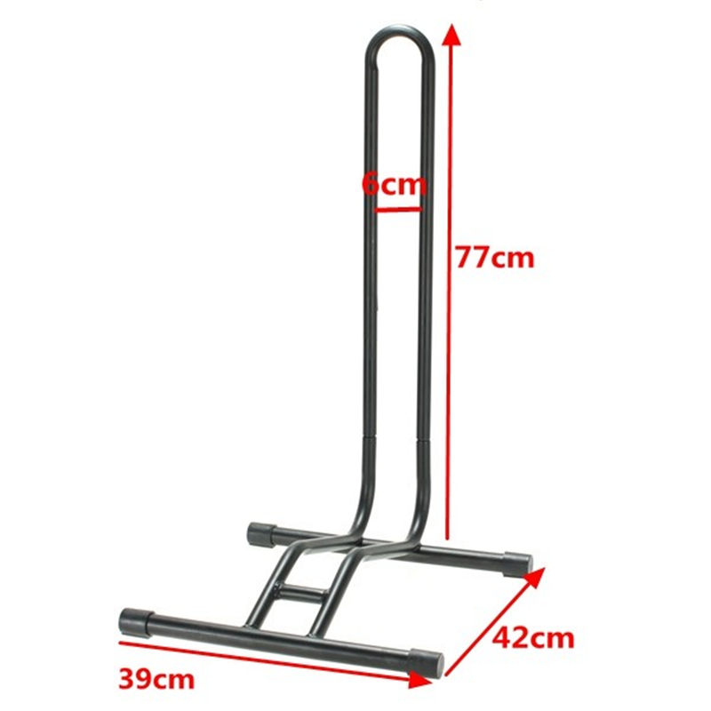 L-type Coated Steel Bicycle Display Floor Rack Heavy Duty Bike Repair Stand Mountain Bike Rack Parking Holder High Quality