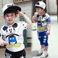 Children Boys Set Baby & Kids Mickey Clothes Sets Girls Minnie Cartoon Suit Clothing Child Costume 2-7years